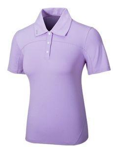 UV冰感機能高球衣(女)紫色,S/M/LUPF50+高係數抗UV功能榮獲德國最高防曬認證!!
