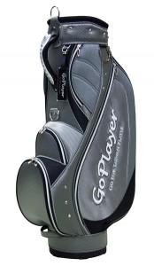 GoPlayer高爾夫球桿袋9.5英吋桿袋(銀)採用輕量布料